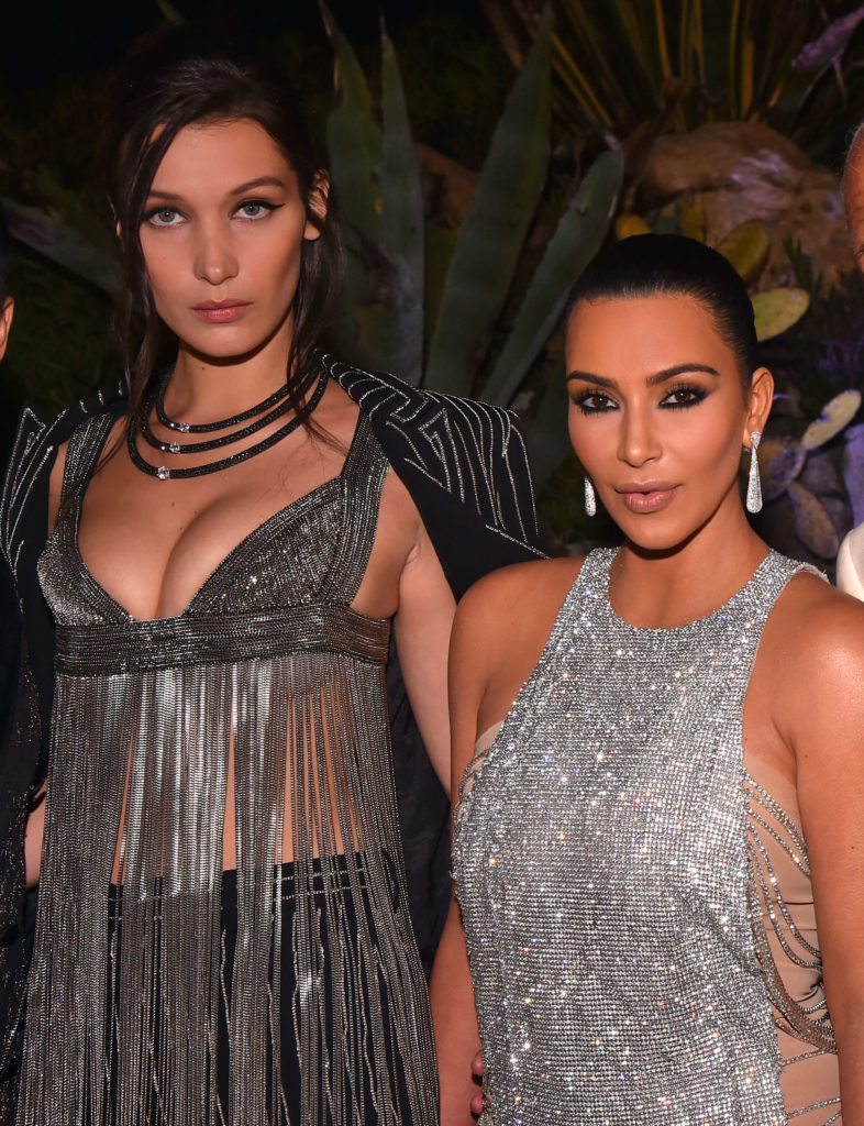 Bella Hadid, Kim Kardashian