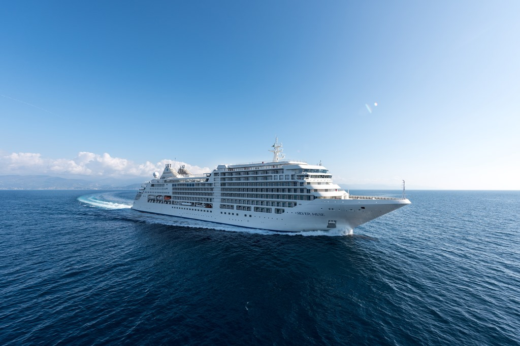 Silversea: Silver Muse successfully completes shipyard trial