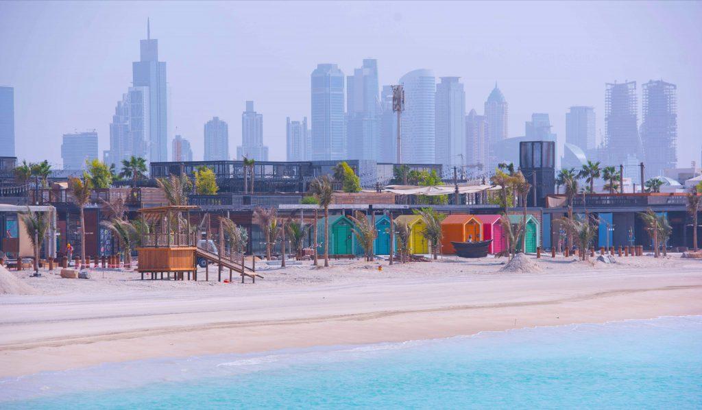 Dubai – la plaja in mijlocul iernii 2