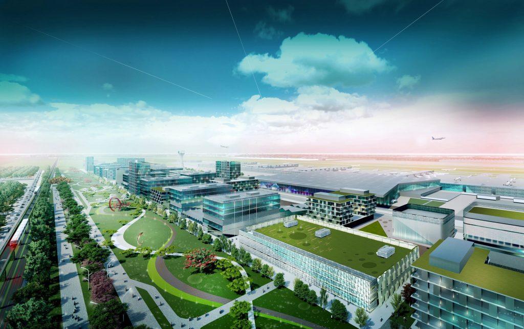 Noi detalii despre viitorul aeroport din sudul Bucureștiului 1