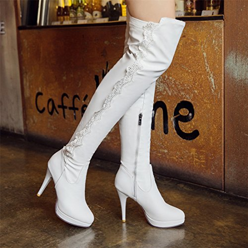 Cizmele albe: Must have-ul sezonului ! 3