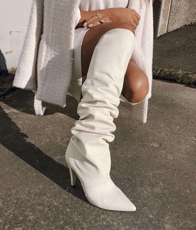 Cizmele albe: Must have-ul sezonului ! 14