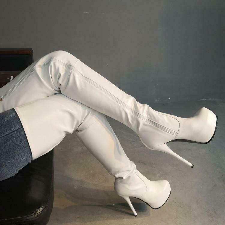 Cizmele albe: Must have-ul sezonului ! 10