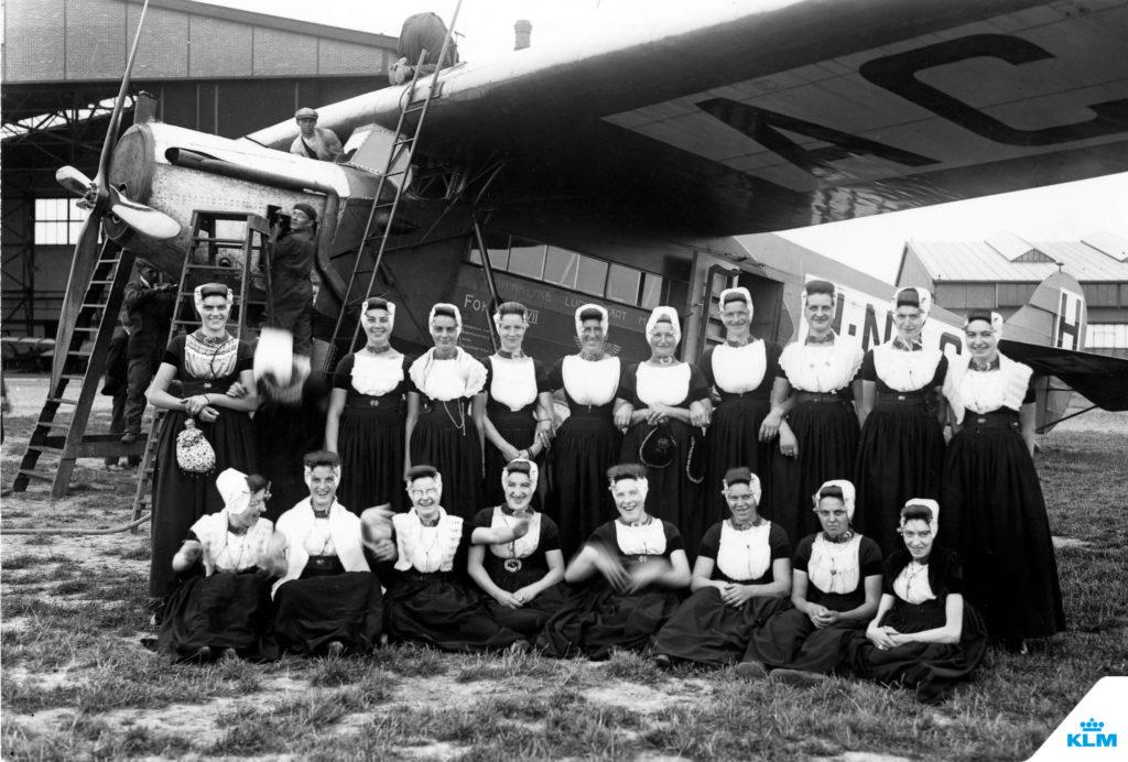 100 de ani KLM 1