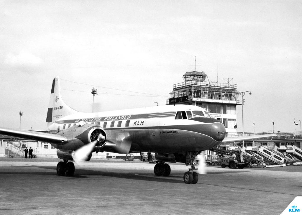100 de ani KLM 6