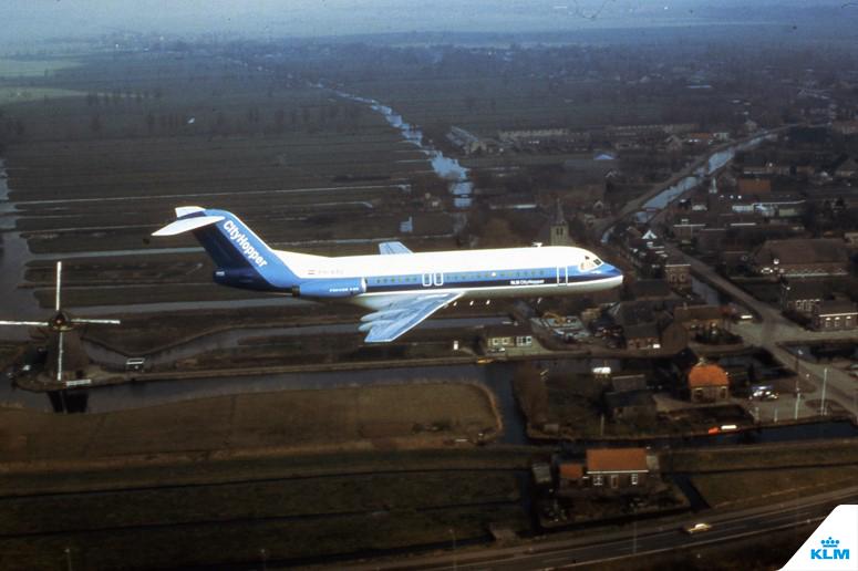 100 de ani KLM 7
