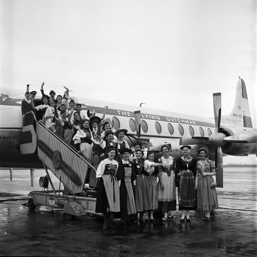 100 de ani KLM 3