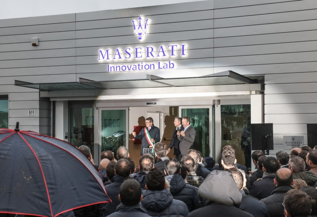 Maserati opens the doors to its Innovation Lab 1