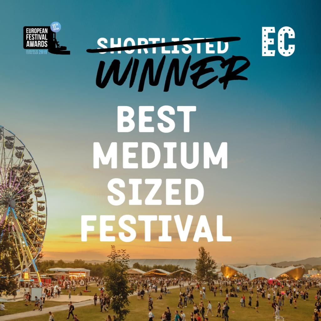 Electric Castle câștigă titlul de Cel mai bun festival european de dimensiuni medii 1