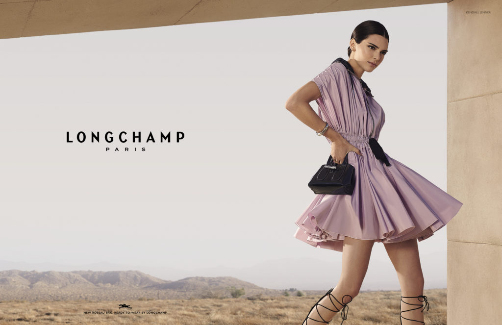 CALIFORNIA COOL: KENDALL JENNER IN LONGCHAMP'S SPRING 2020 CAMPAIGN 1